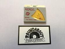VINTAGE ASTATIC SONOTONE N-687 TURNTABLE NEEDLE AA-303 N-9916, 0.7 MIL SAPPHIRE