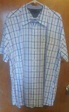 Tommy Hilfiger button down short sleeve sze XXL mens shirt