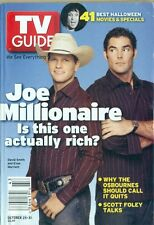 TV GUIDE -2003 -JOE MILLIONAIRE -DAVID SMITH + EVAN MARRIOTT COVER + SCOTT FOLEY