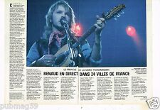 Coupure de presse Clipping 1984 (2 pages) Renaud Sechan