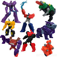 McDonald's 2015 TRANSFORMERS: Robots in Disguise  8-pc Happy Meal toy set