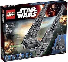 LEGO STAR WARS 75104 KYLO REN'S COMMAND SHUTTLE NUOVO NEW GUERRE STELLARI