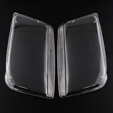 Hot Car Pair Headlight Lenses Clear Transparent Assembly For VW JETTA