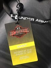 2016 Under Armour All America Game Guest Pass Lanyard VIP Ticket
