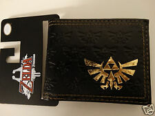 The Legend Of Zelda Nintendo Embossed Logo Video Game Bifold Wallet NWT