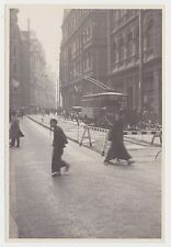 Street scene with old tram Shanghai China taken 1931 Original OLD large photo