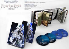 Attack on Titan: Part 2 Limited (Blu-ray/DVD, 2014, 4-Disc) R1 FUNimation Anime