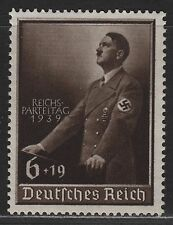 GERMANY SC# B147 ,MI# 701, 1939 THIRD REICH LABOUR DAY MH over print...