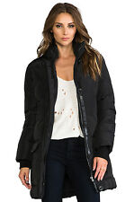 NWT Authentic Mackage Women Fur hood Chaska Parka Coat Black S Small BRAND NEW