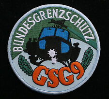 COMMEMORATIVE BUNDESGRENZSCHUTZ GSG 9 PATCH BORDER POLICE GROUP SPECIAL OPS HELO