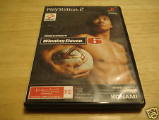 WINNING ELEVEN-6 WORLD SOCCER USED PLAYSTATION 2 - PS2 (NTSC-J) JAPAN IMPORT!