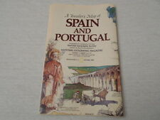 1984 MAP OF SPAIN AND PORTUGAL NATIONAL GEOGRAPHIC (1)