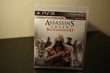 Assassin's Creed: Brotherhood  (Sony Playstation 3, 2010) *New / Factory Sealed
