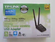 TP-Link TL-WN8200ND 300Mbps High Power Wireless USB Adapter WPS 2x 5dBi Antenna