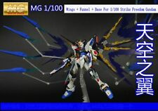 Conversion Parts Wings + Funnel + Base For 1/100 Strike Freedom Gundam