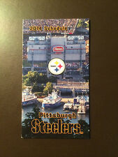 Pittsburgh Steelers 2014 NFL pocket schedule - McDonald's
