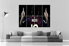 LIONEL MESSI BARCELONA FC FOOTBALL Wall Art Poster Grand format A0 Large Print