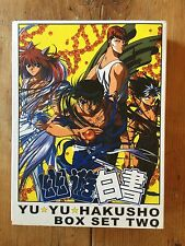 Yu Yu HAKUSHO Box Two  DVD Set Series ANIME - 6 Discs Mint