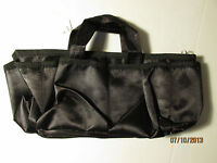 Roma Inc. Purse Organizer Black waterproof 6 pocket 2399