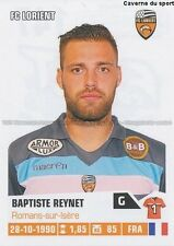 N°147 BAPTISTE REYNET # FC.LORIENT FCL STICKER FOOT 2014 PANINI
