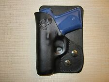 KIMBER SOLO CARRY,9mm leather right hand, wallet and pocket holster