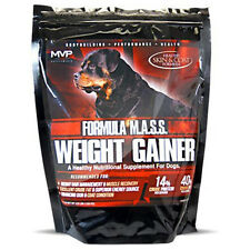 MVP K9 Supplements Formula MASS Weight Gainer For Dogs (45 Servings) FREE SHIP