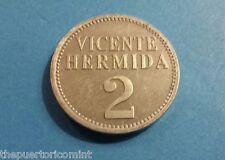 token HACIENDA MATILDE PEPINO 2 ALMUDES VICENTE HERMIDA réplica 2010 Puerto Rico