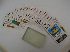 F.X Schmid.cards. International Sports cars.  not. Playing cards. Collectable