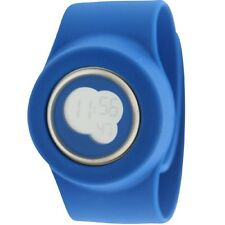 $110 Easy Slap On Fashion Cloud 9 Digital  Watch (blue) Battery not included
