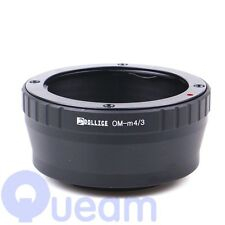 Olympus OM Lens to Micro Four Thirds 4/3 Lens Adapter E-PM2 E-P3 E-PL3 E-PM1