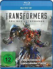 3 D Blu-ray * TRANSFORMERS 4 : ÄRA DES UNTERGANGS - 3D # NEU OVP =