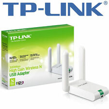 TP-Link TLWN822N High-Gain WLAN USB Adapter - 2,4GHz, 802.11b/g/n, QSS-Taste