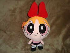 "Powerpuff Girls Blossom plush BACKPACK  Doll 13"" tall x 9"" wide"
