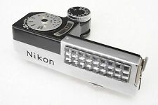 :Nikon F External Clip On Exposure Light Meter Model 3 Working & Accurate