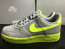 Nike Air Force 1 Men's Shoes UK 9 EUR 44 Grey Green 488298 041