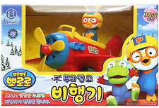 Pororo Push & Go Airplane/Korea TV animation/Car Toy Doll aircraft/Diecasting