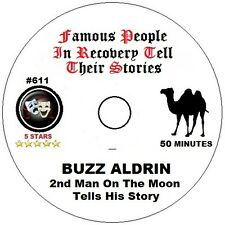 Alcoholics Anonymous AA 12 Step Speaker CD - Buzz Aldrin Man on the Moon Story
