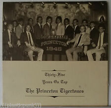 Princeton Tigertones Thirty-Five Years On Tap 1981 Dion~Beach Boys~Turtles Cover