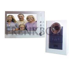 Videocitofono vivavoce LCD FOTO RECORDER DVR  registratore immagini su memoria
