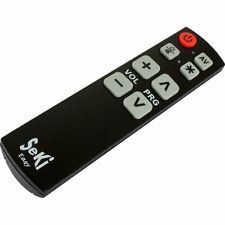 SeKi Easy learning universal remote control (for kids,seniors).Large buttons