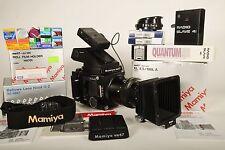 MAMIYA RB67 PRO S MEDIUM FORMAT CAMERA ,PRISM FINDER,180mm K/L LENS,FILM HOLDER
