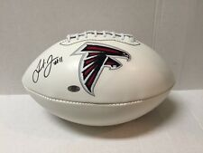 Julio Jones Signed Atlanta Falcons Logo Panel Full Size Football COA/Holo/Photo