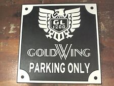 HONDA CLASSIC GOLDWING parking only sign GL1200 motorcycle
