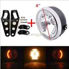 Faro + Staffe Fanale Cafè Racer Frecce Led Incorporate cafe racer caferacer