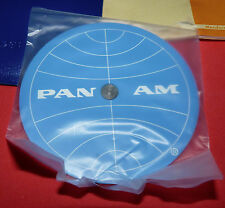 Vtg Pan Am Airlines Concise Circular Ruler NOS Case & Instructions New Old StocK