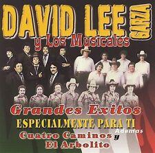 """DAVID LEE GARZA & MUSICALES-""""Grandes Exitos"""" CLASSIC Tejano Tex Mex CD (#60)"""