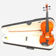 4/4 Full SIZE BASSWOOD 4/4 VIOLIN / FIDDLE + NICE CASE & BOW +ROSIN & BRIDGE