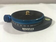 Novoflex Panorama Plate - Universal Disc- Plate w/ Level Marked w/ Degrees