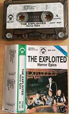 THE EXPLOITED - Horror epics MC RARE 1'ST POLISH PRESS 1991