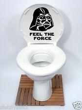 Star Wars Estilo asiento del Inodoro Pegatina Calcomanía Vinilo Sticker nuevo diseño de la diversión